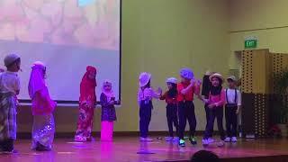 Amallysse Marlissa performed One Big Family - Zulfa Kindergarten Annual Graduation Ceremony 2017 MP3