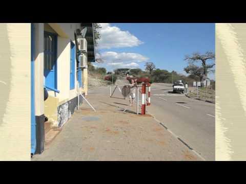 Border Crossing Between Namibia and Botswana
