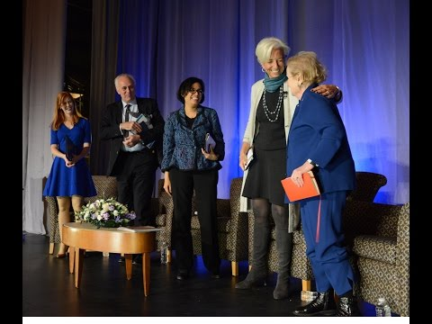 The Albright Institute's Public Dialogue on Addressing Global Inequality