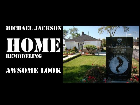 Michael Jackson's- House - inside and outside