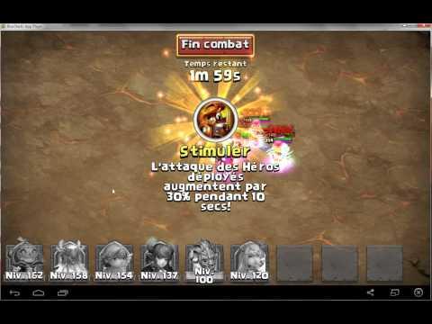 Castle Clash Boss 3 No Stun 3 Min