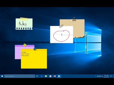 Sticky Notes For Windows 7 / 8 / 10