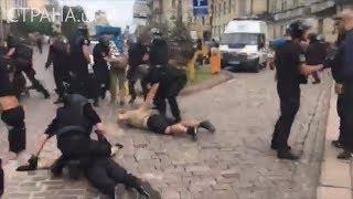 В Киеве перед ЛГБТ-маршем полиция массово задерживает его противников | Страна.ua