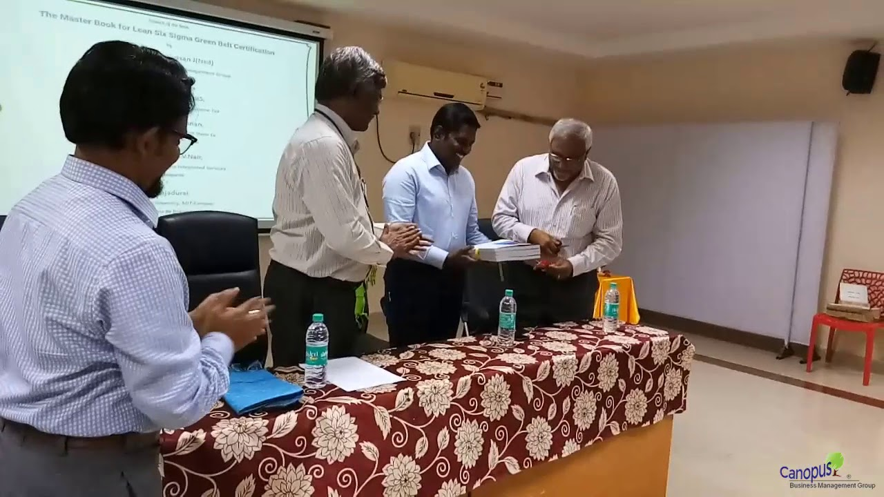 Book Launch The Master Book For Lean Six Sigma Green Belt