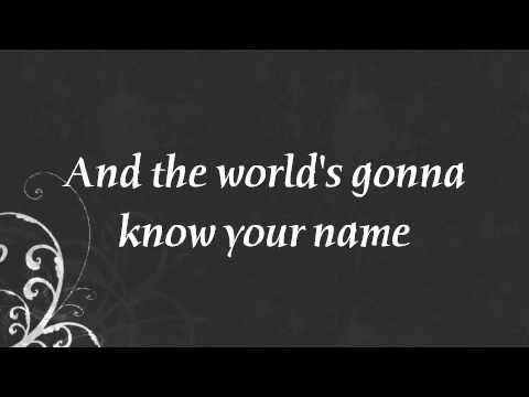 Hall Of Fame - The Script feat.will.i.am. (Lyrics On screen)