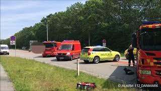 19.06.2019 - Voldsom ulykke - Gladsaxe