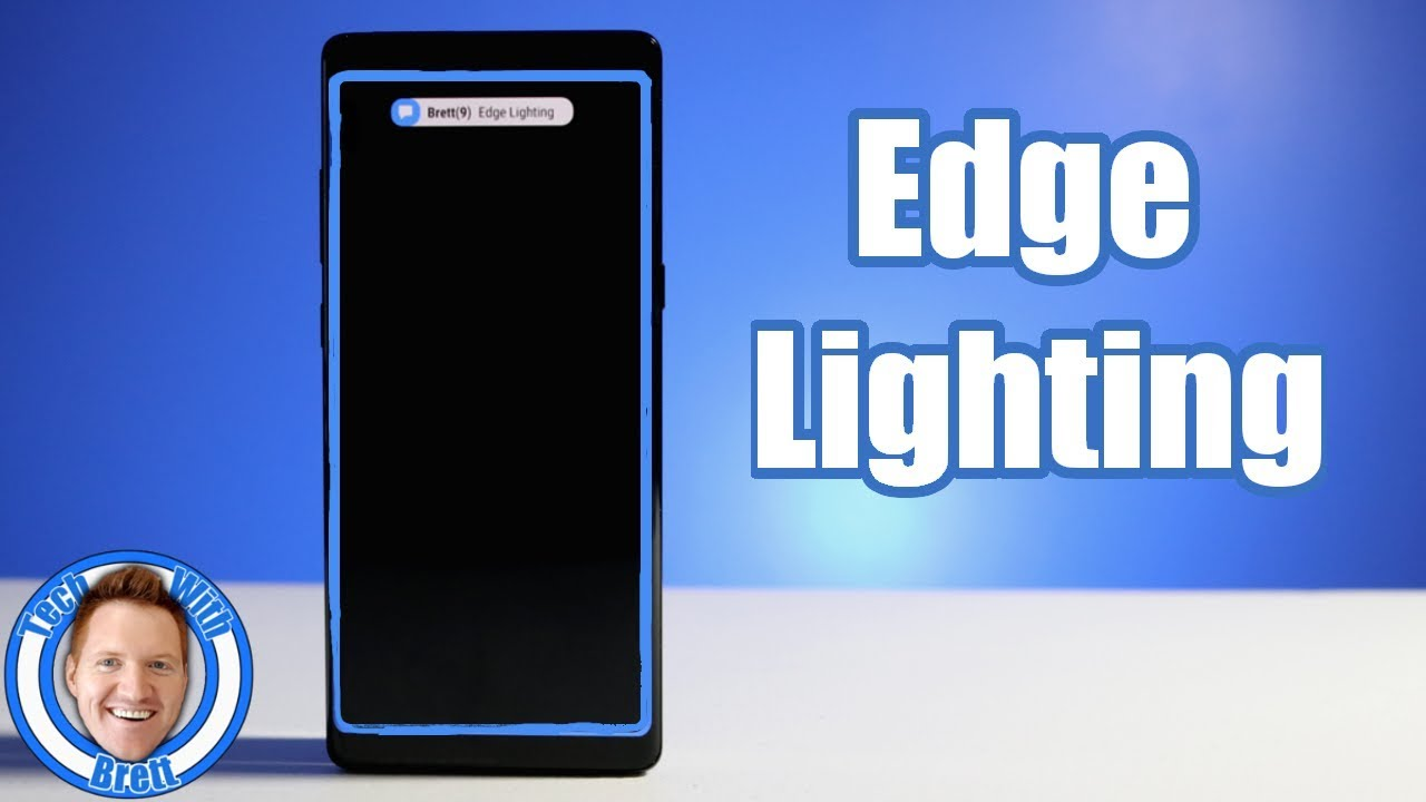 Edge Lighting & Notification Tutorial for Galaxy S8, S8+ & Note 8  #Smartphone #Android