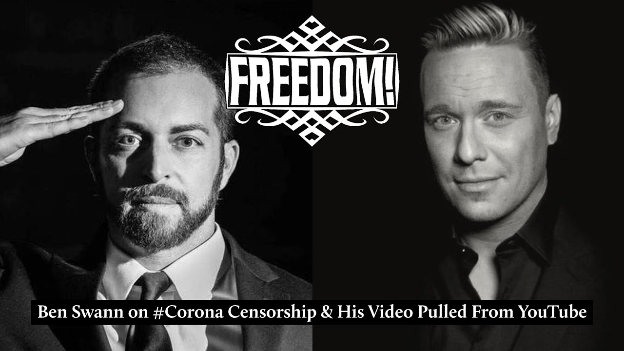 Ben Swann on #Corona Censorship & His Video Pulled From YouTube