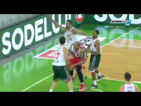 Olimpija : Crvena zvezda Telekom [ABA lige,19 Kolo 13.01.2016
