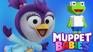 Muppet Babies Summer & Kermit Summer Arcade Mini Games   Disney Junior App For Kids