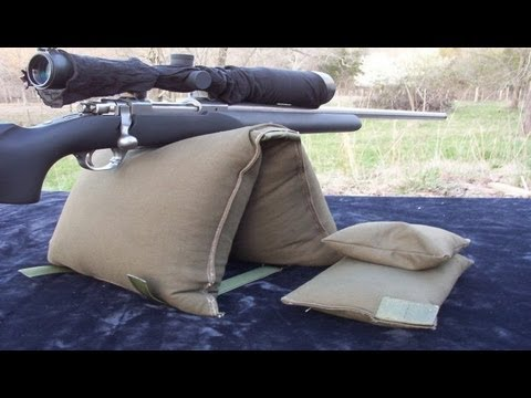 JTO #9 : MAKE YOUR OWN GUN REST SHOOTING BAG   YouTube