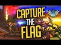 Overwatch - Capture The Flag Gameplay (NEW Ayutthaya Map)