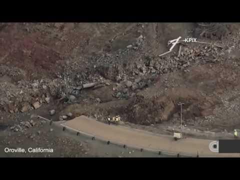 """Presa oroville""""Emergencia en california se esta colapsando!"""
