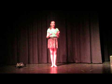 Me in the Raw/My World - IB Theatre Solo Piece.