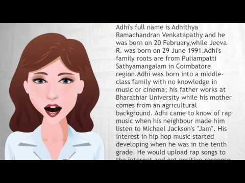 Hiphop Tamizha - Wiki Videos