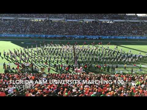 2017 Florida Classic Halftime Famu Marching 100
