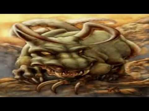 las 3 bestias bíblicas del cielo, la tierra y el mar