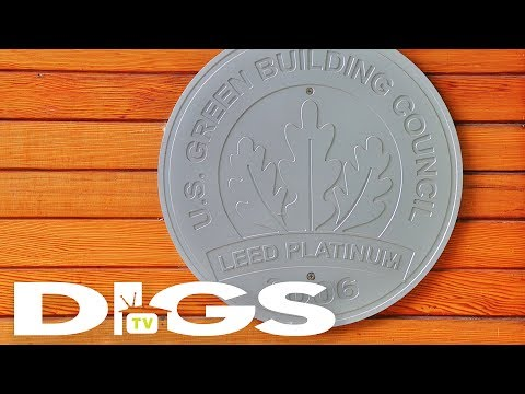 DIGStv   LivingHomes — The First LEED Platinum Home in the World [EP16]