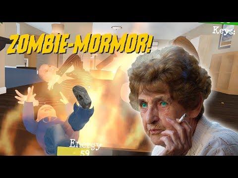 JAG HITTADE MOLOTOVEN! | Granny Simulator [FUNNY MOMENTS]