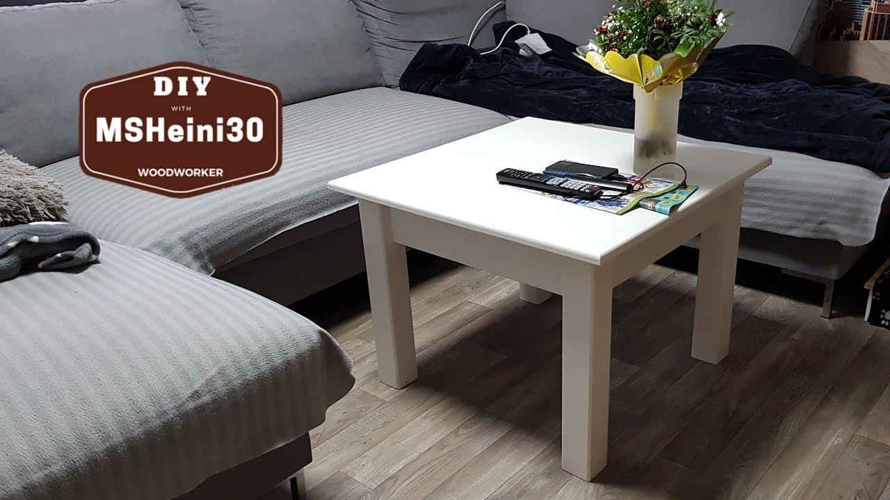 Diy Couchtisch Einfach Und Mega Gunstig Bauen Coffee Table Youtube