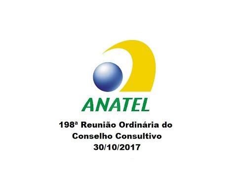 198ª Reunião do Conselho Consultivo, de 30/10/2017