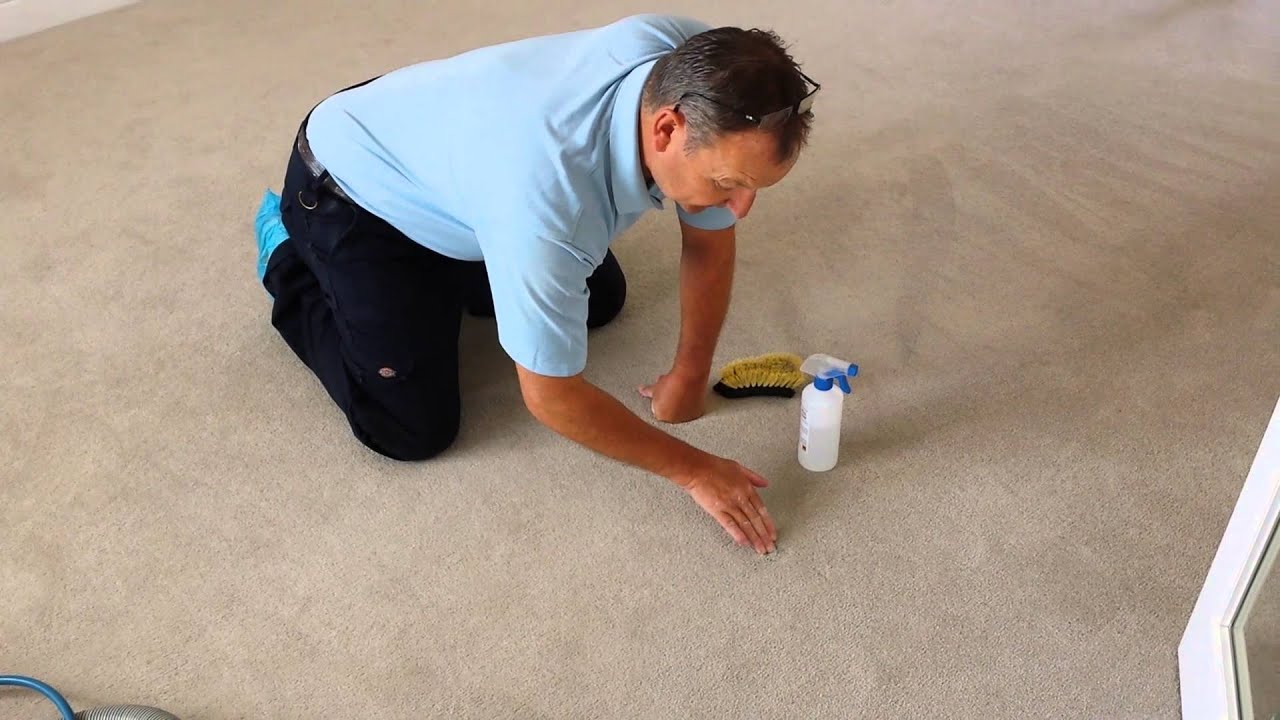 how to get dents out of carpet from heavy furniture