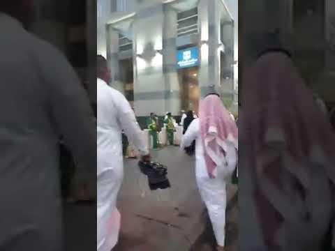 Solat Raya Di Masjid Nabawi, Madinah