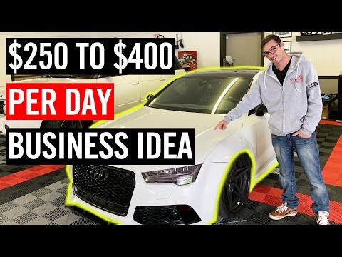 How To Start A PROFITABLE Auto Detailing Business