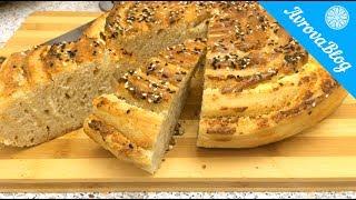 Сырный хлеб на закваске «Серпантин»