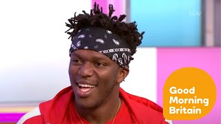 KSI GMB Interview - Boxing, Logan Paul & Fame - Who Is The King Of The Internet? (18/07/2018)