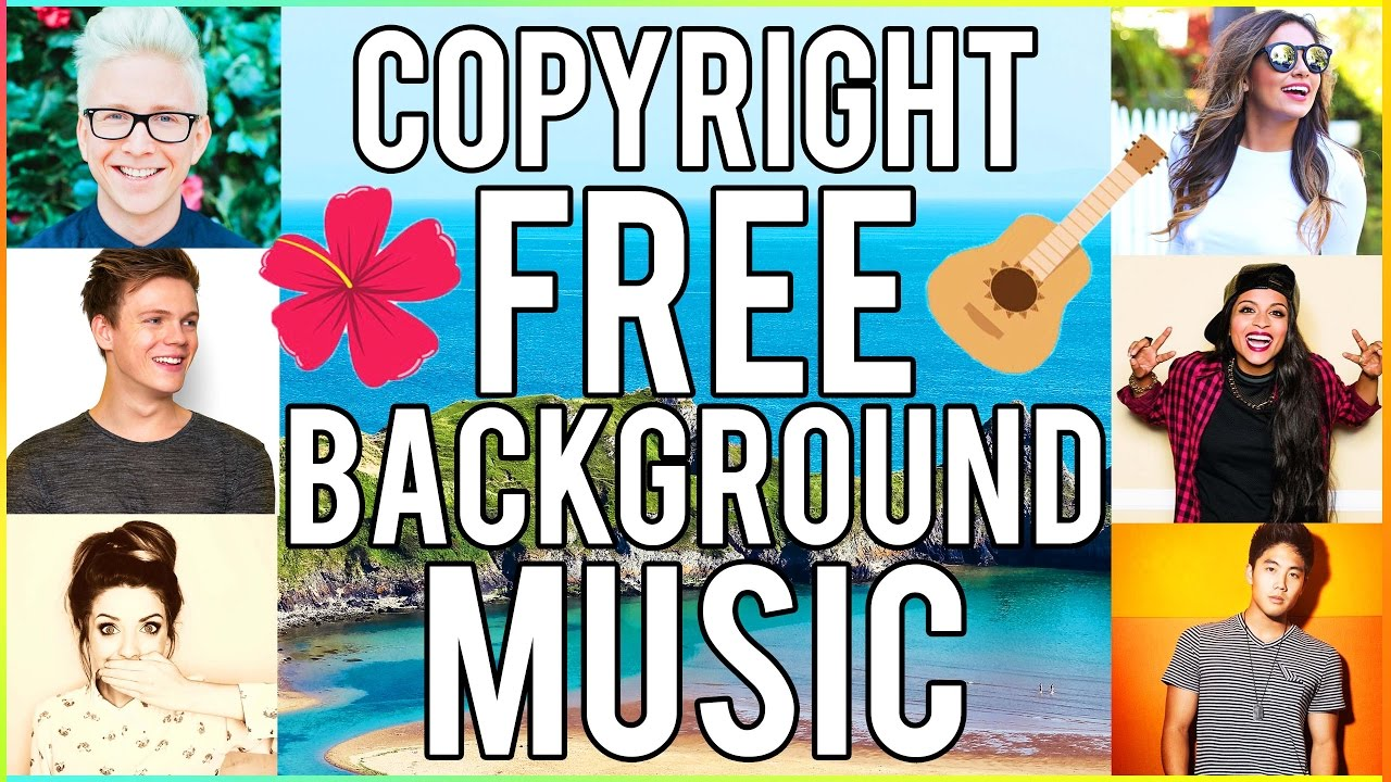 🎵COPYRIGHT FREE BACKGROUND MUSIC for YOUTUBE VIDEOS! Popular Songs  Youtubers Use 2016🎶