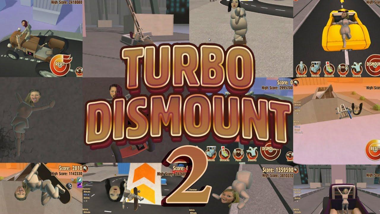 ridin dirty turbo dismount 2 youtube