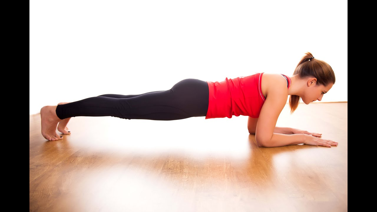 how to properly do a plank exercise in 3 simple steps