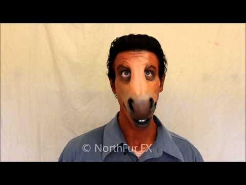 Foam Latex Large Horse - Donkey Muzzle Prosthetic Mask