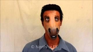 Foam Latex Large Horse - Donkey Muzzle Prosthetic Mask thumbnail