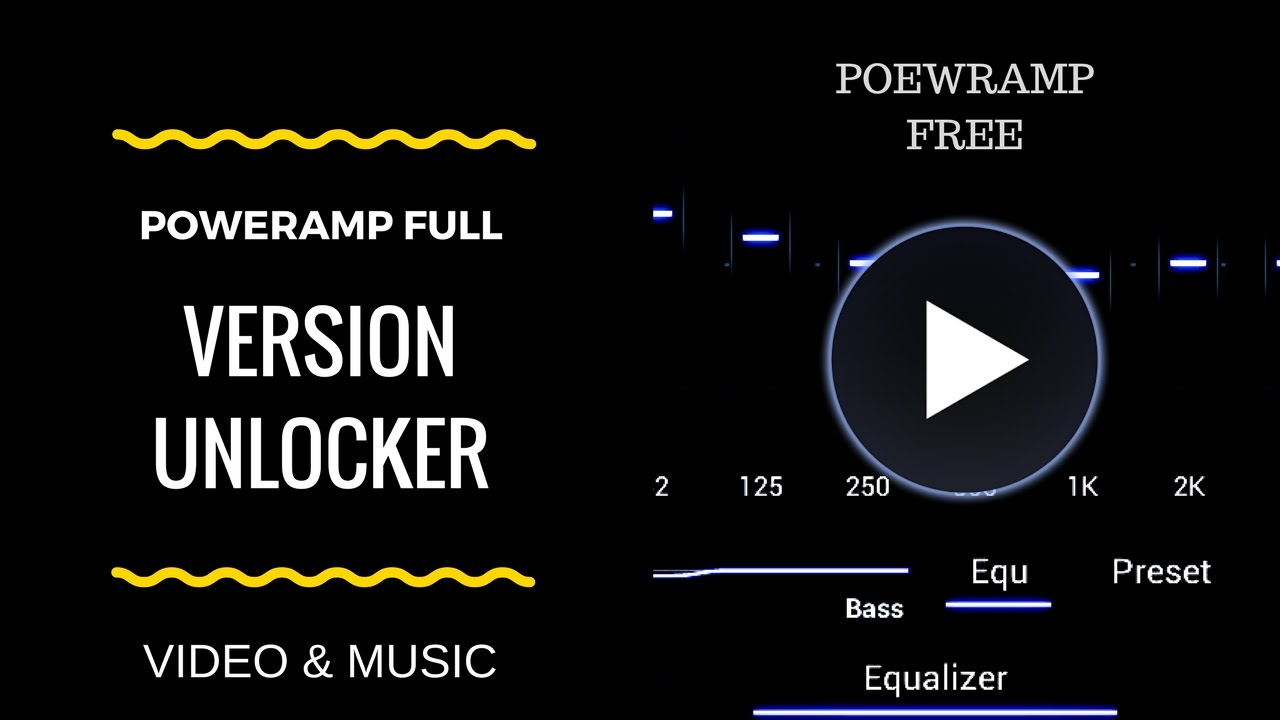 Poweramp Full Version Unlocker [MOD APK | Latest] Free Download