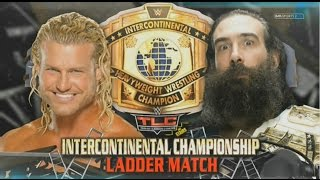 WWE TLC 2014 Tables, Ladders, & Chairs - Dolph Ziggler vs Luke Harper - Ladder Match Simulation