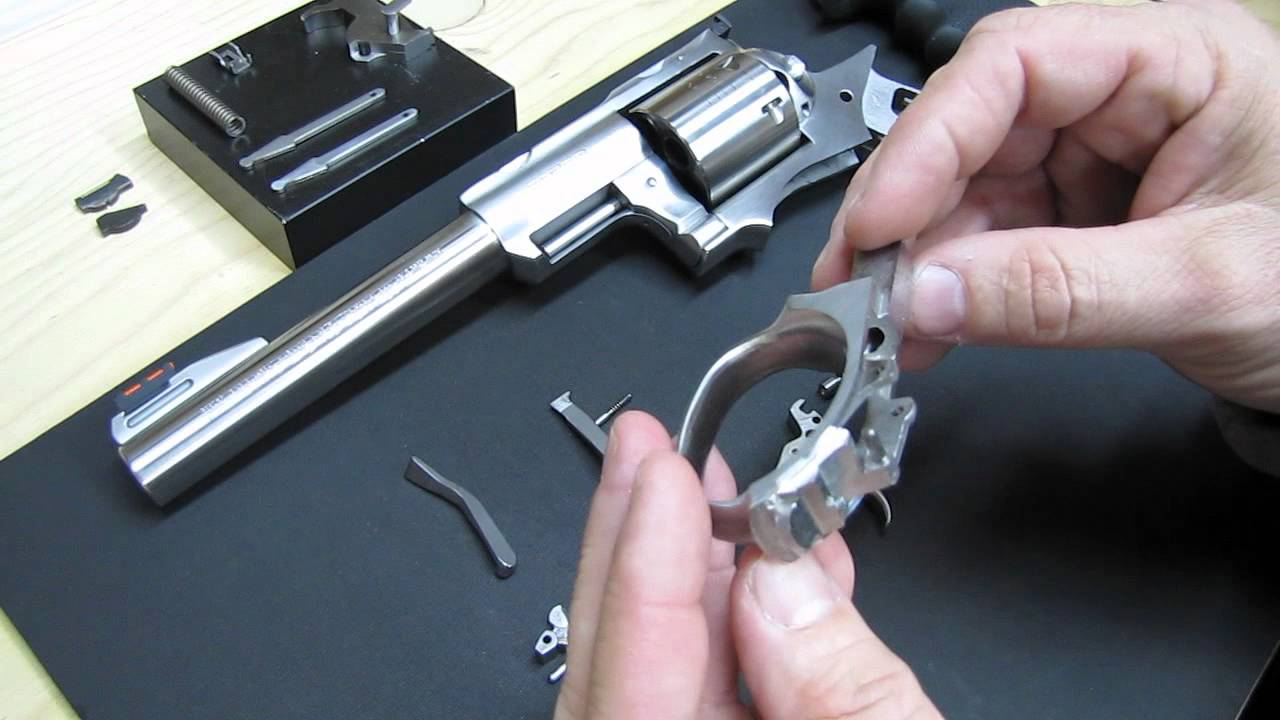 How to Disassemble & Reassemble The Trigger Guard Assembly on a Ruger Super  Redhawk by E  Olemite