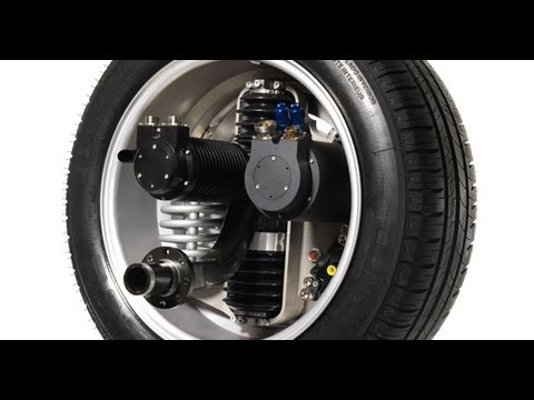 Michelin Active Wheel Tire Which Electric Motor And Suspension You