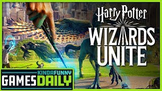Harry Potter: Wizards Unite Launch Sales - Kinda Funny Games Daily 06.24.19
