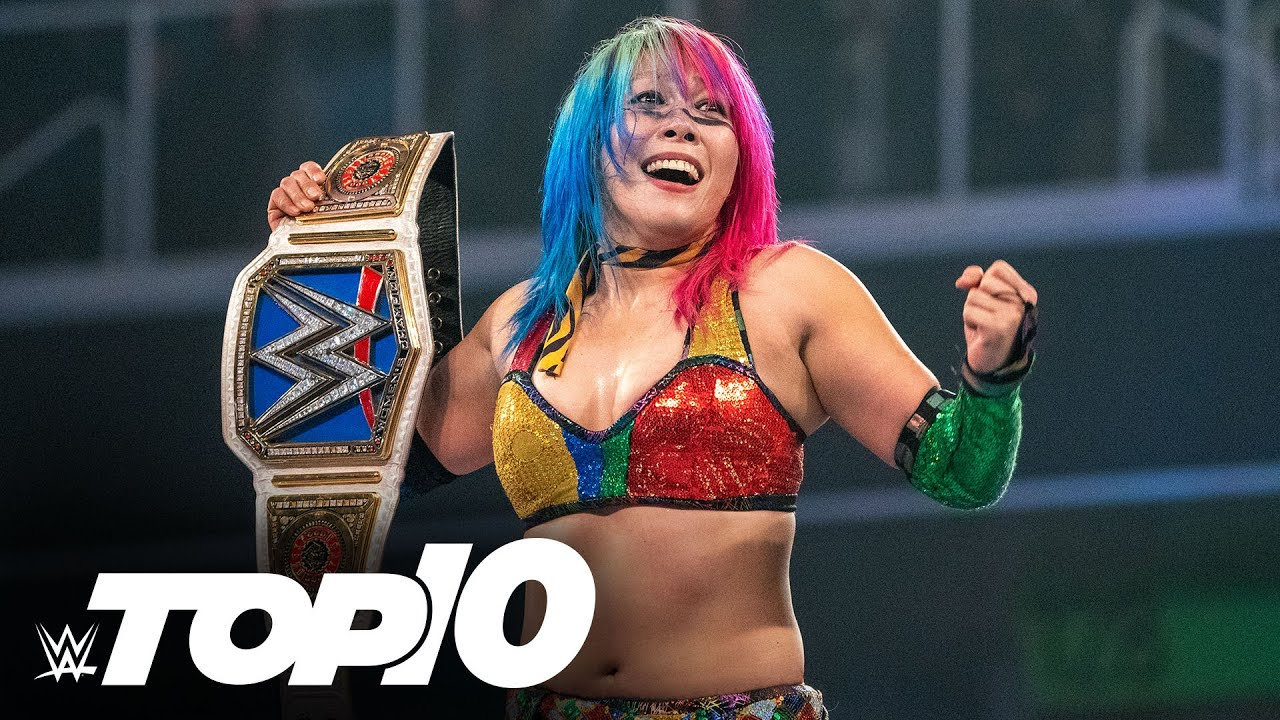 Asuka's career-defining wins: WWE Top 10, Aug. 23, 2020