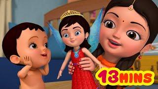 Gudiya Rani - Playing with Dolls Collection   Hindi Rhymes for Children   Infobells
