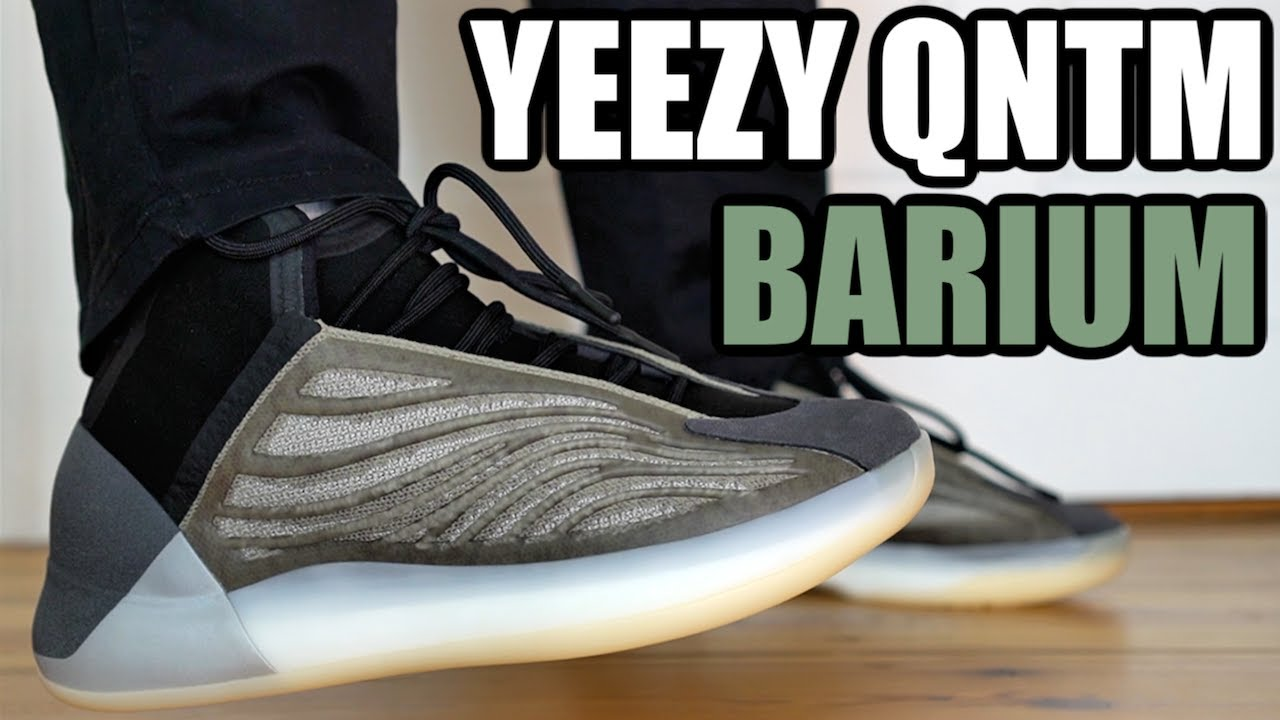 ADIDAS YEEZY QNTM BARIUM REVIEW & ON FEET + SIZING & RESELL PREDICTIONS