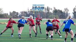 Valley Center Powderpuff 2012--Alex Scoles third interception