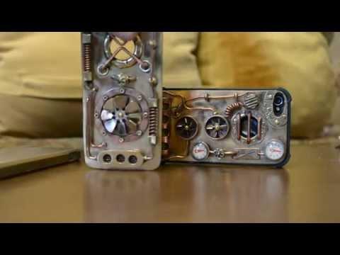 Steampunk case iPhone 5, 5S, 6, 6Plus ,technology vapor., Samsung, steam technology.