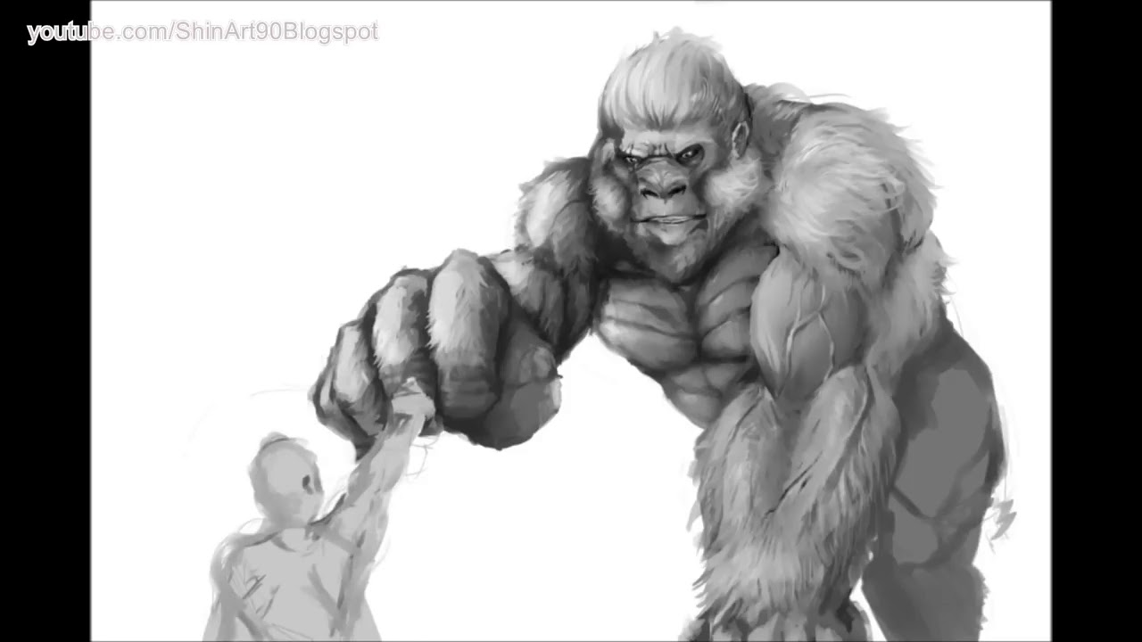 Rampage Hot Movies Drawing 1 Youtube
