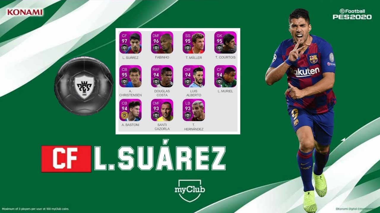 UPCOMING POTW: FEATURED JUL 02 '20 OFFICIALLY CONFIRMED | PES 2020 (MOBILE/PC)