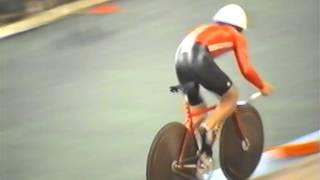 Велоспорт - трек. Чемпионат СССР 1989. ИГП 4 км. Квалификация.