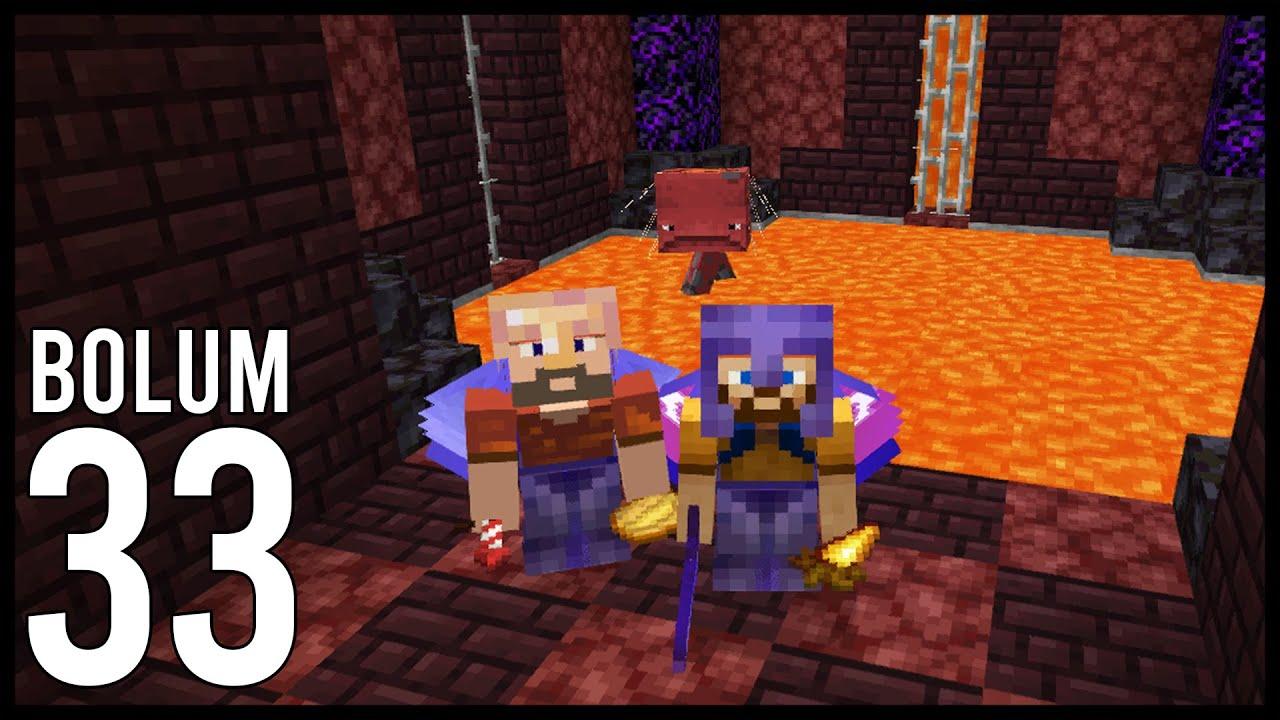 MORUK BEY'E LAV ODASI YAPTIK! Minecraft: Modsuz Survival   S6 Bölüm 33