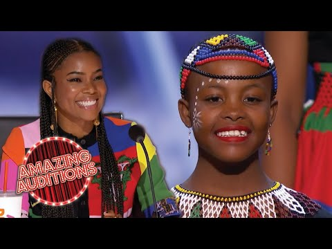FEEL GOOD Audition From Ndlovu Youth Choir On America's Got Talent | Amazing Auditions